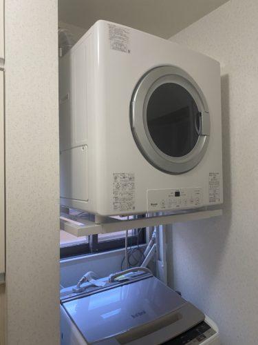 【帰国後のリフォーム】アメリカのような衣類乾燥機を!乾太くん8キロ設置