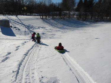 【冬の雪遊び・そり・アイススケートの持ち物】とミシガンアナーバー情報